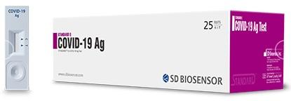 STANDARD Q COVID-19 Ag Test (Hızlı Antijen Testi)